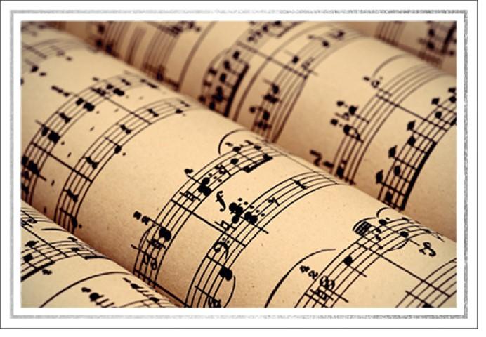 Les 12: Muziektekeningen